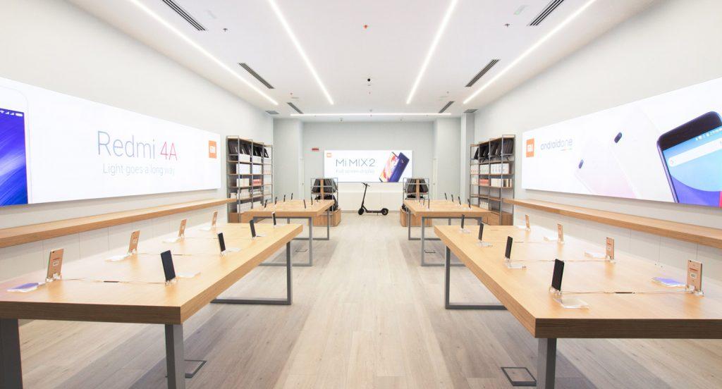 Nueva tienda en barcelona de Xiaomi